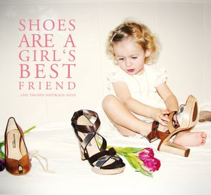 Shoes are a girl's best friend!